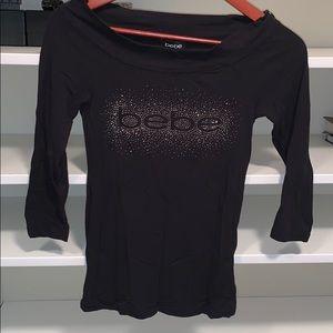 Bebe 3/4 sleeves top